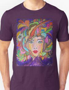 Colorful Warrior Unisex T-Shirt