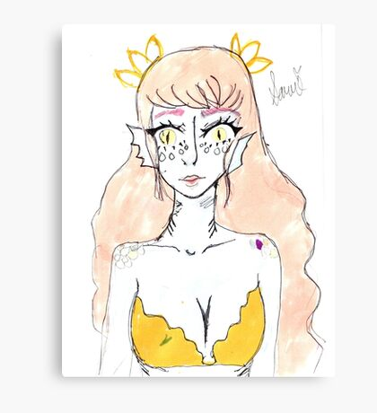 mermaid~ Canvas Print