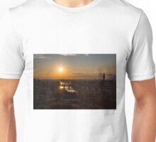 Florence sunset from Piazzale Michelangelo Unisex T-Shirt
