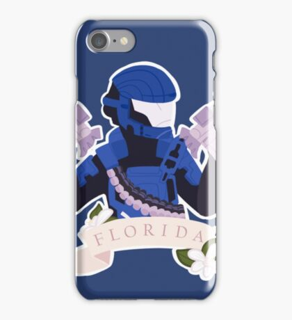 Red vs Blue - Agent Florida iPhone Case/Skin
