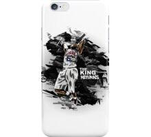 LeBron James - The King Returns iPhone Case/Skin