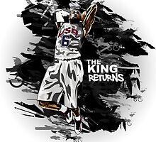 LeBron James - The King Returns by RhinoEdits