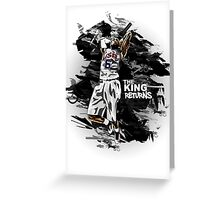 LeBron James - The King Returns Greeting Card
