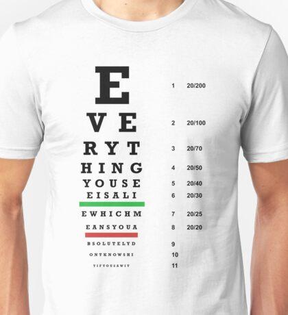 lie chart T-Shirt