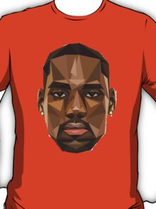 LeBron James Abstract Retro Design T-Shirt