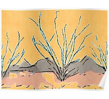 Ocotillo Leaves Us Alone Poster