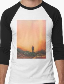 Solitude Men's Baseball ¾ T-Shirt