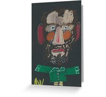 Portrait becomes you Greeting Card