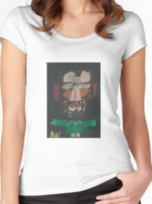 Portrait becomes you Women's Fitted Scoop T-Shirt