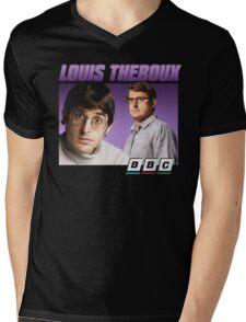 Louis Theroux 90s Alternate Mens V-Neck T-Shirt
