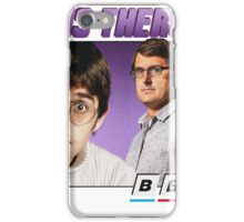 Louis Theroux 90s Alternate iPhone Case/Skin