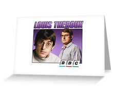 Louis Theroux 90s Alternate Greeting Card