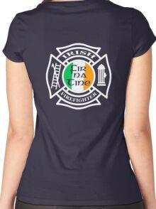 Irish Firefighter Women's Fitted Scoop T-Shirt