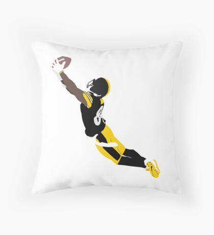 Antonio Brown Steelers! Throw Pillow