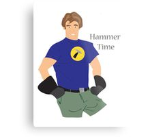 Hammer Time Metal Print