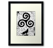 Beacon Hills Wolves Framed Print