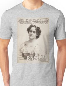 Performing Arts Posters Roeber and Crane Bro's Vaudeville Athletic Co 0361 Unisex T-Shirt