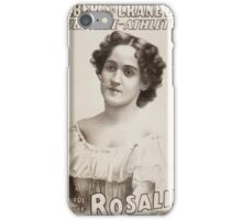 Performing Arts Posters Roeber and Crane Bro's Vaudeville Athletic Co 0361 iPhone Case/Skin