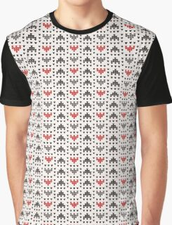 Knit Pattern Graphic T-Shirt