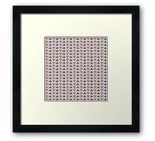 Knit Pattern Framed Print