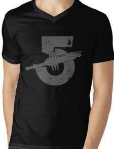 Babylon 5 Vintage (Grey) Mens V-Neck T-Shirt