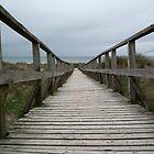 Boardwalk to the beach by LydiaBlonde