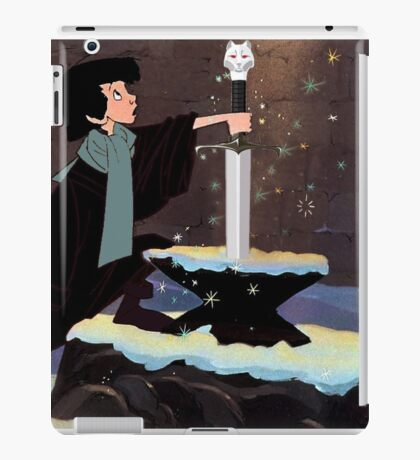 Who Is The King In The North? iPad Case/Skin