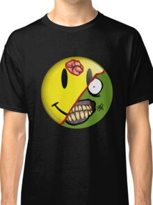 Zombie Happy Face Classic T-Shirt