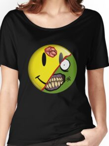 Zombie Happy Face Women's Relaxed Fit T-Shirt