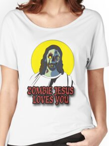 Zombie Jesus Loves You Women's Relaxed Fit T-Shirt