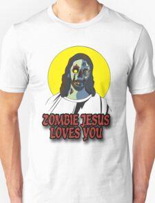 Zombie Jesus Loves You Unisex T-Shirt