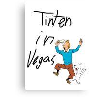 TinTen in Vegas Canvas Print