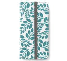 Blue Vine iPhone Wallet/Case/Skin
