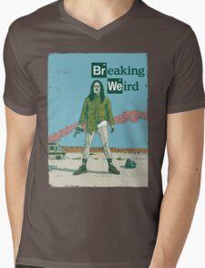 Breaking Weird Al Mens V-Neck T-Shirt