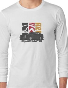 Audi Sport quattro (black) Long Sleeve T-Shirt