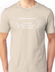 Wilderpeople survival guide Unisex T-Shirt