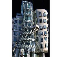♫ ♬ ♪ Dancing House Prague iPhone Case ♫ ♬ ♪ by ✿✿ Bonita ✿✿ ђєℓℓσ