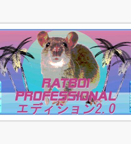 Ratboi Professional エディション2.0 Sticker