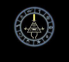 """""""Bill's Wheel"""" from Gravity Falls by Zekrom9"""