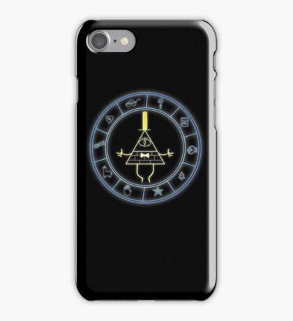 """Bill's Wheel"" from Gravity Falls iPhone Case/Skin"