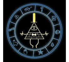 """Bill's Wheel"" from Gravity Falls Photographic Print"