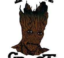 Groot by Jakecolling