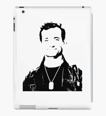 Bill Murray Stripes - Black Outline iPad Case/Skin