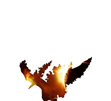 146-Moltres-Space Theme Phone Case by TomsTops