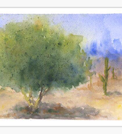 Watercolor Arizona Palo Verde Tree Sticker