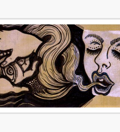 Breathing Smoke & Serpents: Lux Edo, Eat the Light Sticker