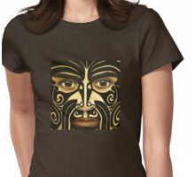 Maori Warrior Womens Fitted T-Shirt
