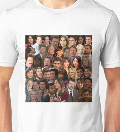 Parks and Recreation Collage Unisex T-Shirt