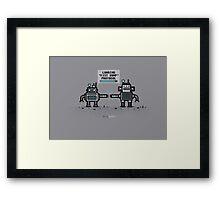 BRObots Framed Print