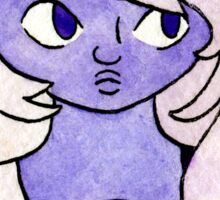 Amethyst (Watercolor) Sticker